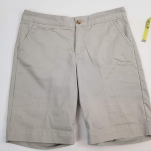 Dockers Gray Beige Bermuda Shorts